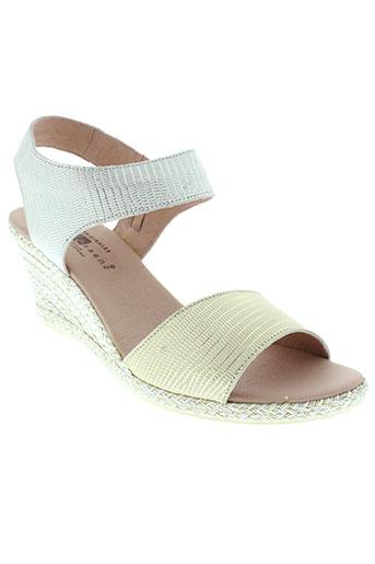 jose saenz chaussures femme de couleur gris