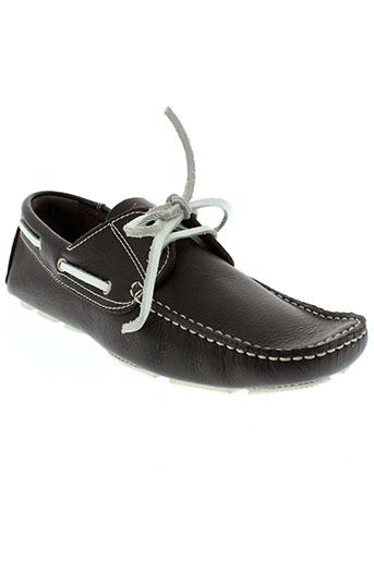 baxton chaussures homme de couleur marron
