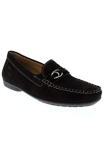 sioux chaussures femme de couleur marron