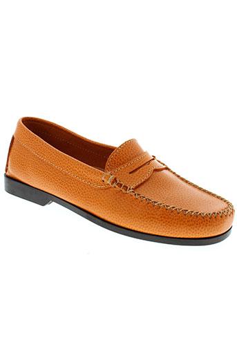 johann chaussures femme de couleur orange
