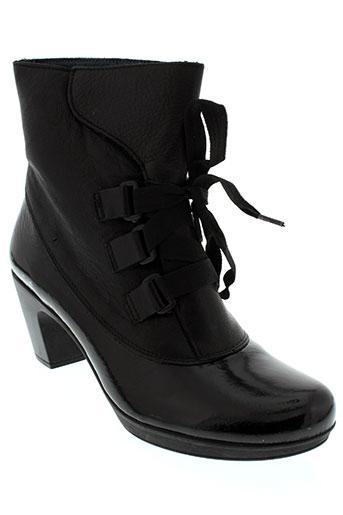 jose saenz chaussures femme de couleur noir