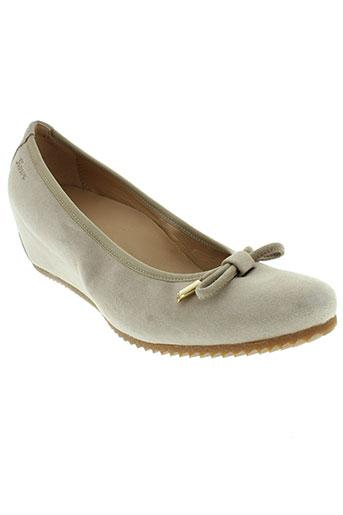 sioux chaussures femme de couleur beige