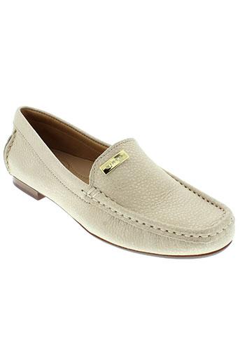 wirth chaussures femme de couleur beige