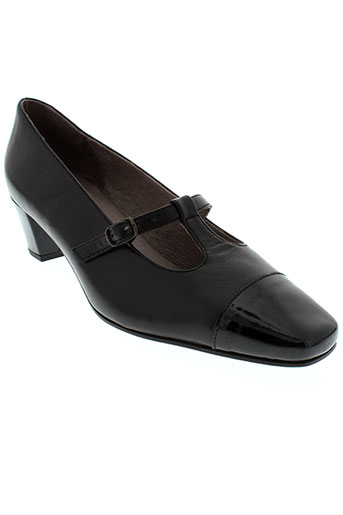 heller chaussures femme de couleur noir