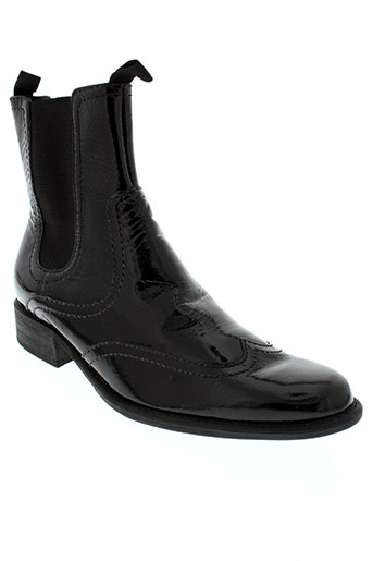 johann boots femme de couleur noir