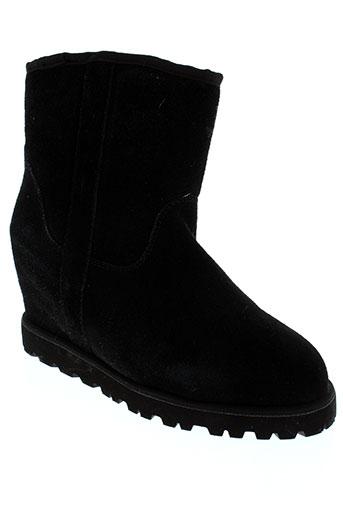 booroo boots femme de couleur noir