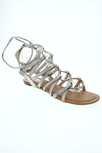 les tropeziennes par m.belarbi chaussures femme de couleur gris