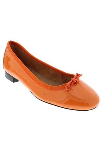 johann ballerines femme de couleur orange