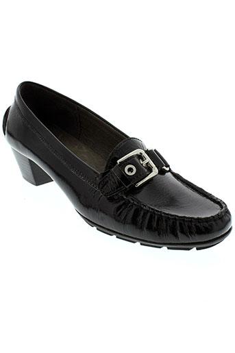 johann chaussures femme de couleur noir