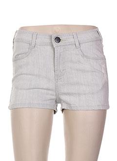Produit-Shorts / Bermudas-Femme-GESTUZ