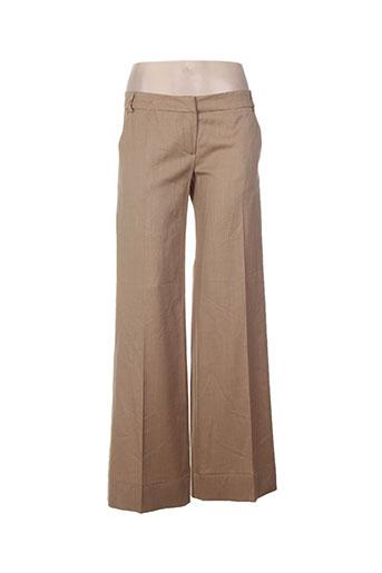 les petites collections pantalons femme de couleur beige