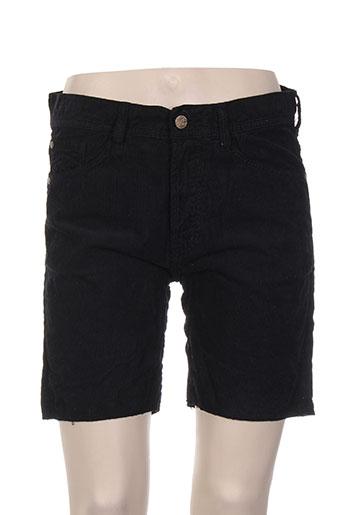 acquaverde shorts / bermudas homme de couleur noir
