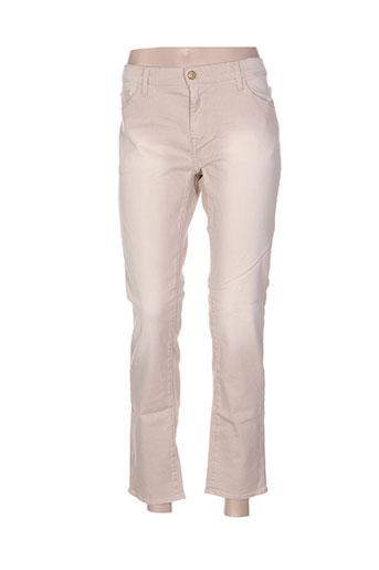acquaverde jeans femme de couleur chair