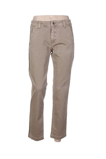 my pants jeans femme de couleur marron