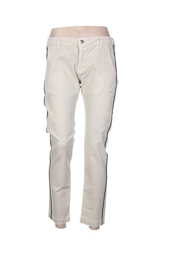 my pants jeans femme de couleur beige