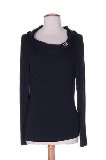 villa bleue t-shirts femme de couleur bleu