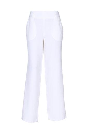guy et cotten pantalons et citadins femme de couleur blanc