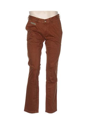 couturist pantalons homme de couleur marron