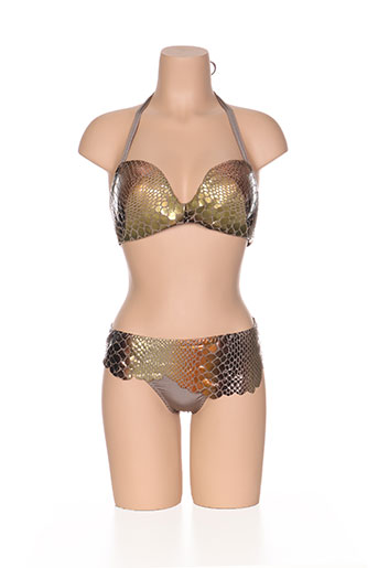 nicole olivier maillots de bain femme de couleur marron
