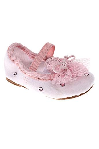 elisabeth puig chaussures fille de couleur rose