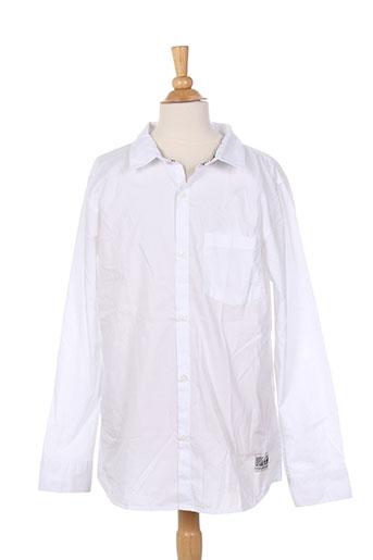 hero seven chemises garçon de couleur blanc