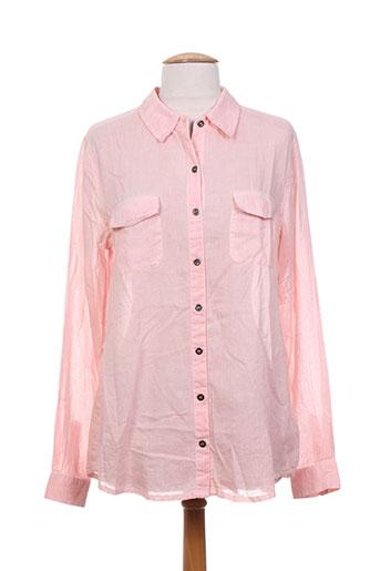 blend she chemises femme de couleur rose