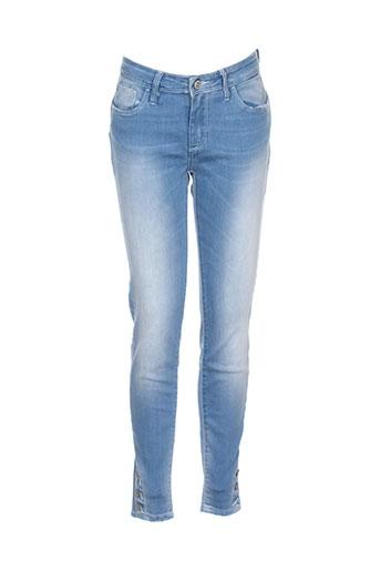 tiffosi jeans femme de couleur bleu