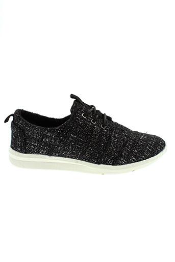 toms chaussures femme de couleur noir