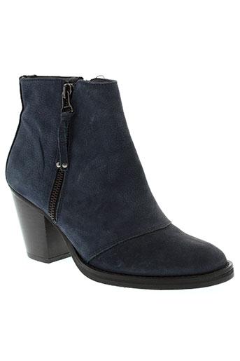 salsa chaussures femme de couleur bleu