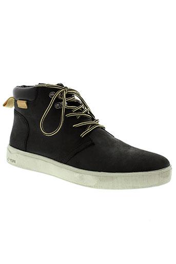 palladium chaussures homme de couleur noir