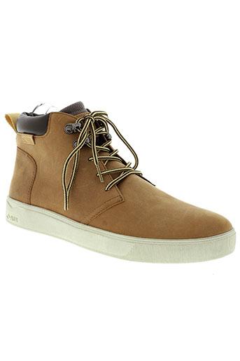 palladium boots homme de couleur beige