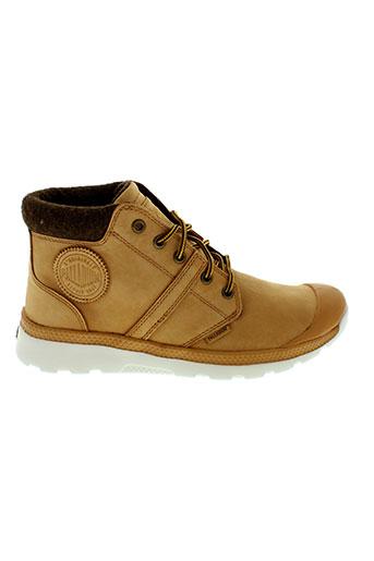 palladium boots garcon de couleur beige