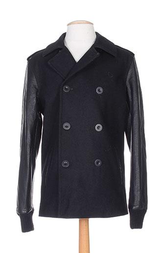 deepend manteaux homme de couleur noir