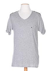 T-shirt manches courtes gris DEEPEND pour homme seconde vue