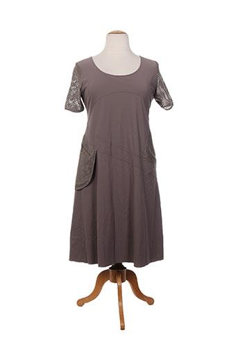 jean delfin robes femme de couleur marron