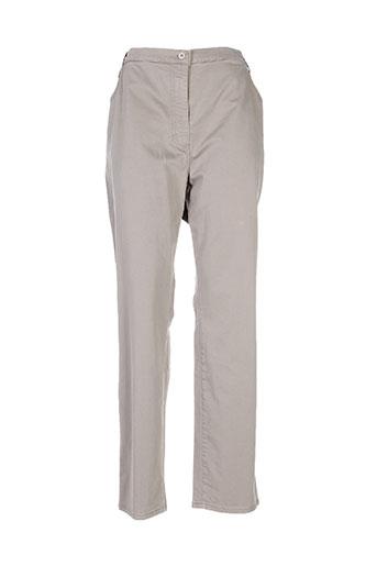pionier pantalons et decontractes femme de couleur beige