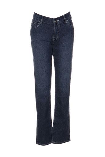 complices jeans fille de couleur bleu