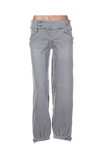 nikita pantalons femme de couleur gris