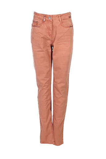 sandwich jeans femme de couleur marron