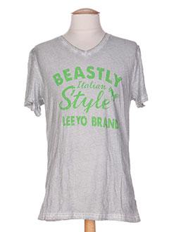leeyo jeans t-shirts homme de couleur blanc eoWlY