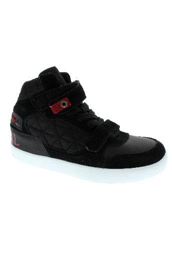 kaporal chaussures enfant de couleur noir
