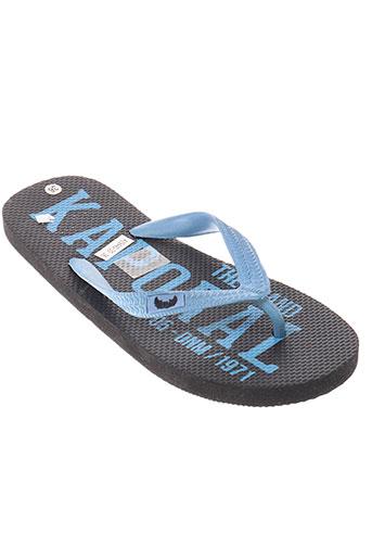 kaporal chaussures enfant de couleur bleu