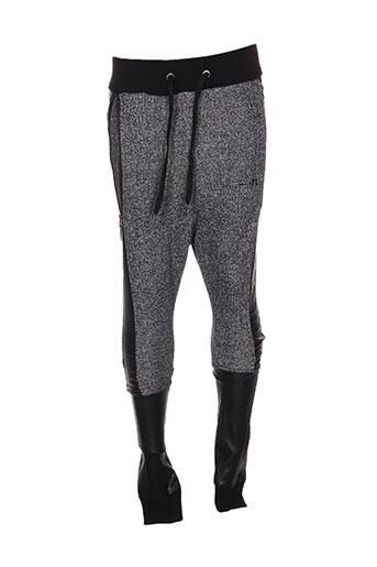 armita pantalons garçon de couleur noir