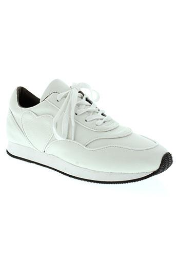 urban walk chaussures femme de couleur blanc