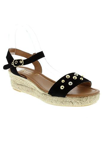 maypol chaussures femme de couleur noir