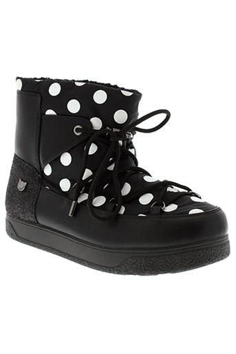 lollipops boots femme de couleur noir