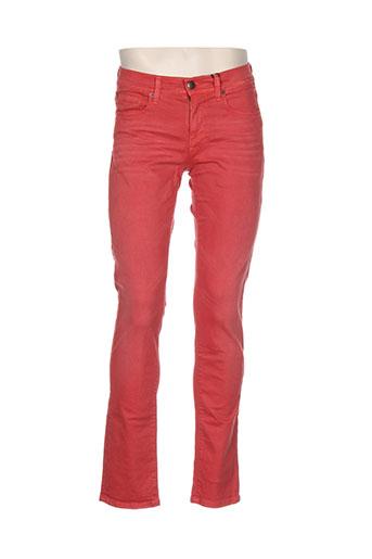 petrol industries pantalons homme de couleur orange