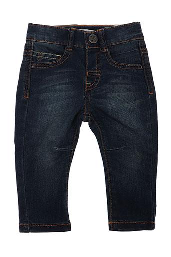 ikks jeans et coupe et slim garcon de couleur bleu