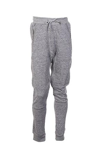 chillaround pantalons enfant de couleur gris