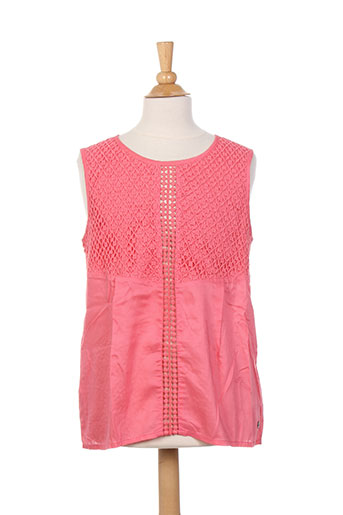 beckaro chemises fille de couleur rose